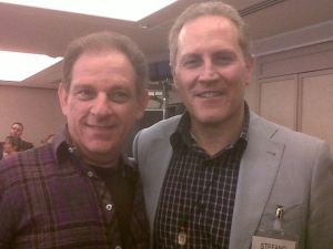 stefano panzarani con Con Joel Roberts, il top mondiale della Comunicazione d'Impatto